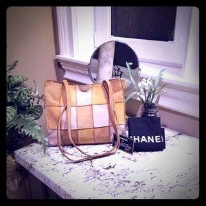 Part 1 Authentic Chanel Patchwork Shoulder Bag